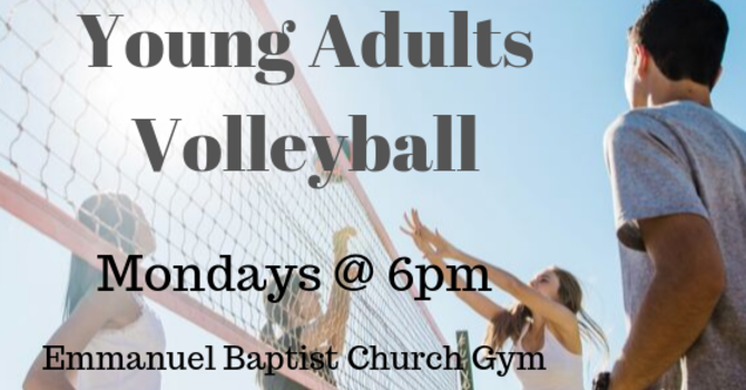 Young Adults Volleyball