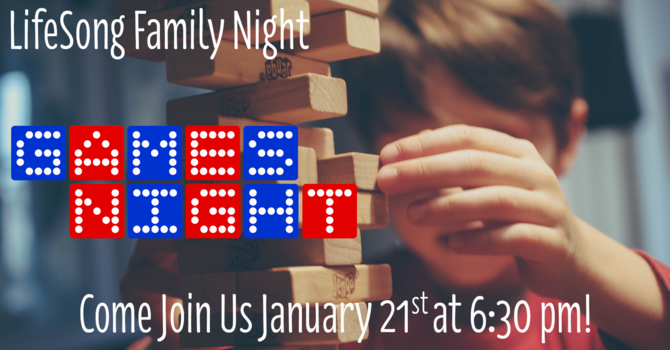 Church Family Night - Games Night