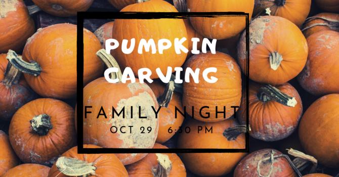 Family Night- Pumpkin Carving
