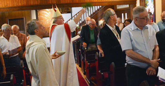 Blessing of the New Windows at St. Francis-in-the-Wood, Caulfeild