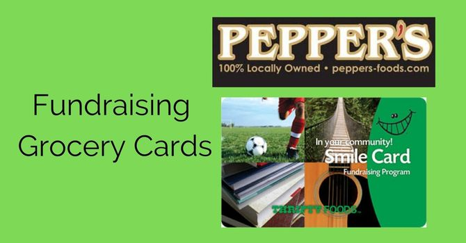 Fundraising Grocery Cards image