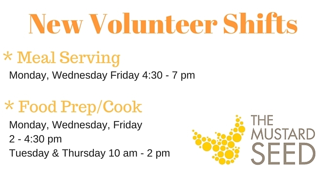 Lend a hand @ The Mustard Seed image