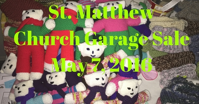 Church Garage Sale image