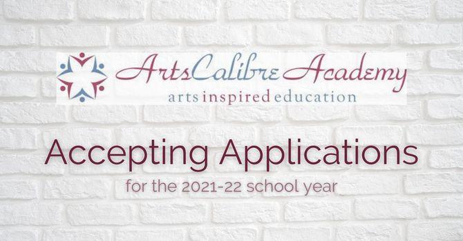 Arts Calibre Academy Accepting Applications image