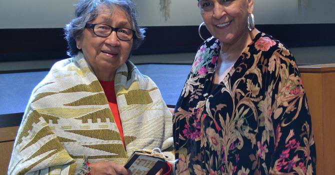 Cathedral Installs Debra Sparrow Weavings image