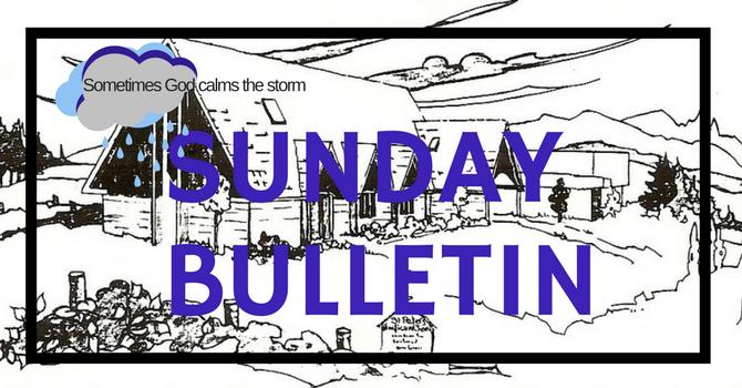 Bulletin - January 6 2019