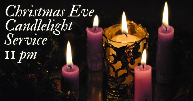 Bulletin - Christmas Eve Candlelight service