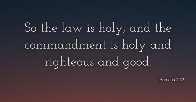Jesus Rewrites The Law