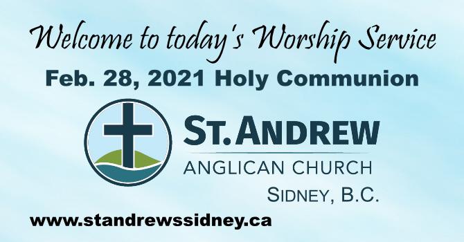 Feb 28, 2021 Online Sunday Holy Eucharist image