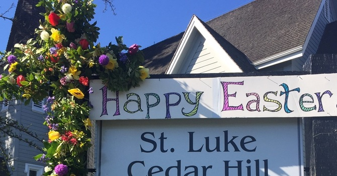 March - May 2020 Sunday Services, Holy Week, and Easter