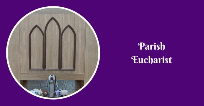 Parish Eucharist - Feburary 28, 2021 image