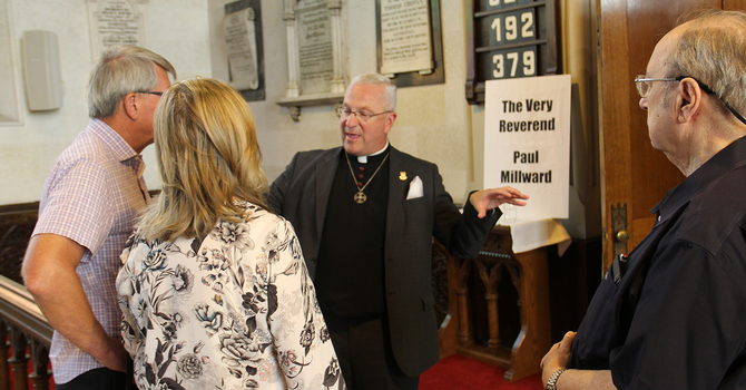 Candidates' answers to Electoral Procedures Committee questions: The Very Reverend Paul Millward