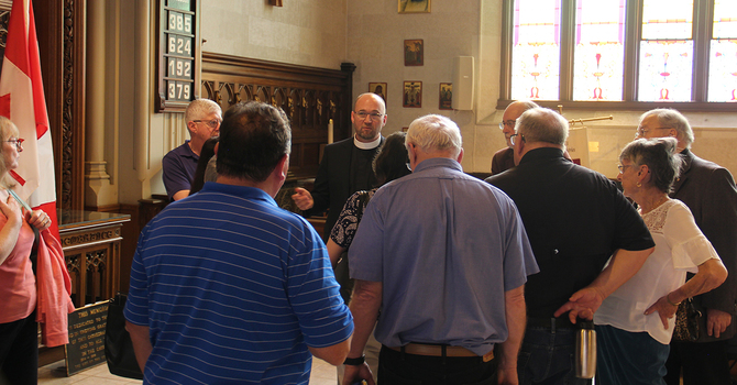 Candidates' answers to Electoral Procedures Committee questions: The Reverend Canon Dr. Todd Townshend