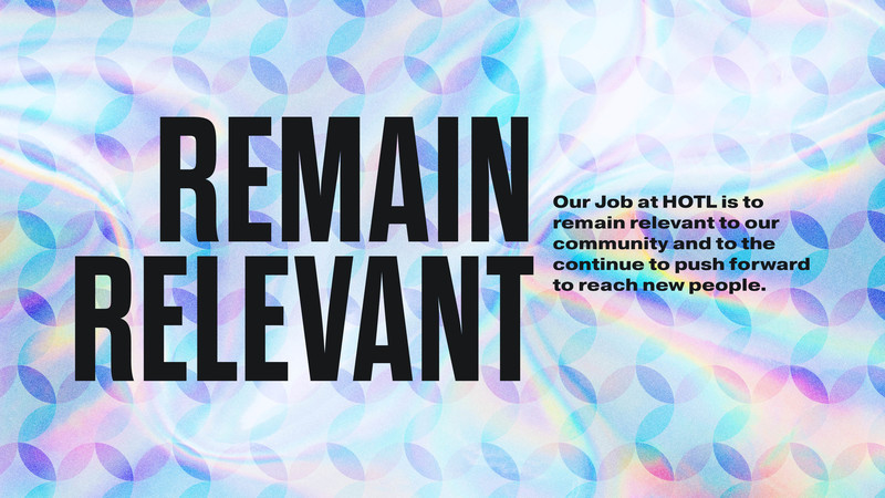 Remain Relevant