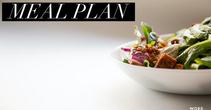 This Weeks Meal Plan image
