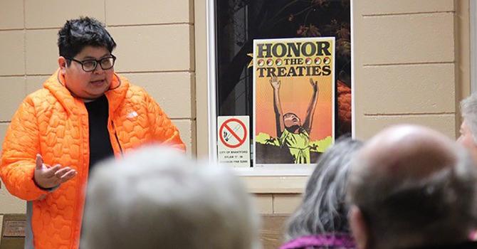 Treaties Recognition Week in Huron