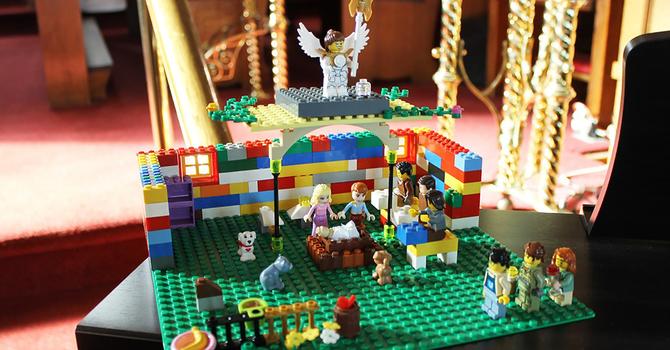 Nativity scene in Lucan