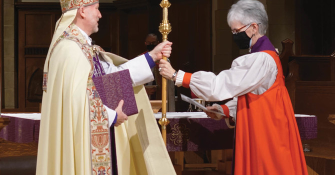 Installation of the 10th Bishop of New Westminster