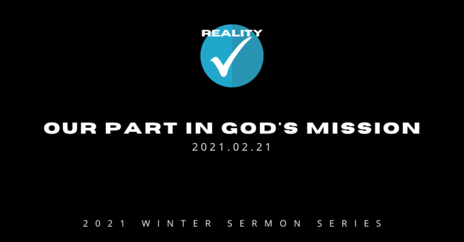 6. Our Part in God's Mission