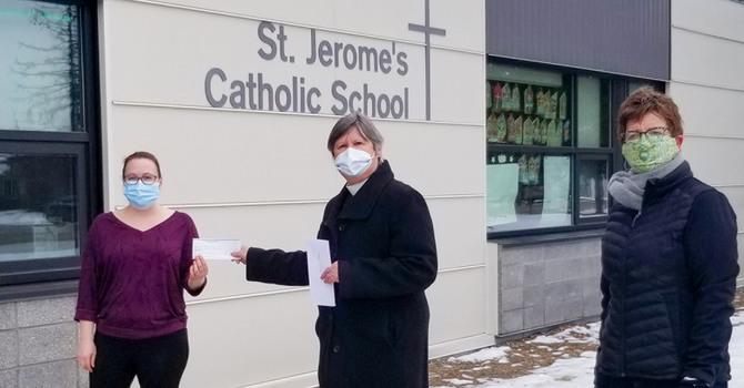 St. Saviour's Supports Vermilion School Lunch Programs