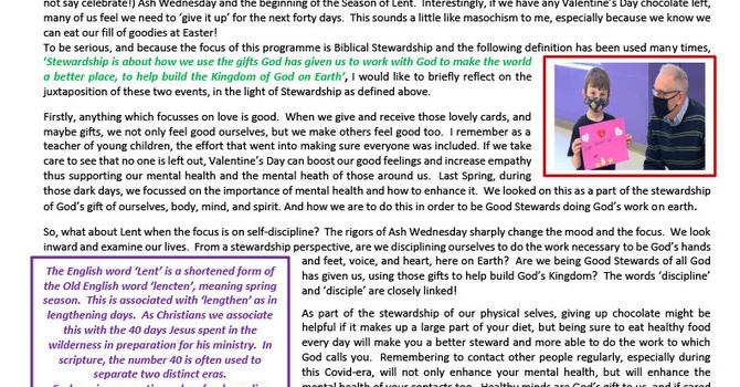 Stewardship of our Spirituality V image