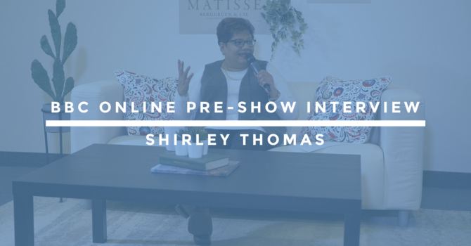 BBC Online Pre-Show Interview | Shirley Thomas image