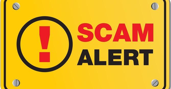 Email Scam Alert image