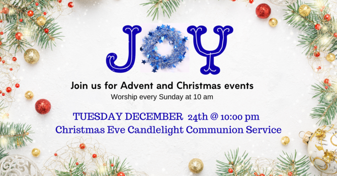 Christmas Eve Communion and Candlelight