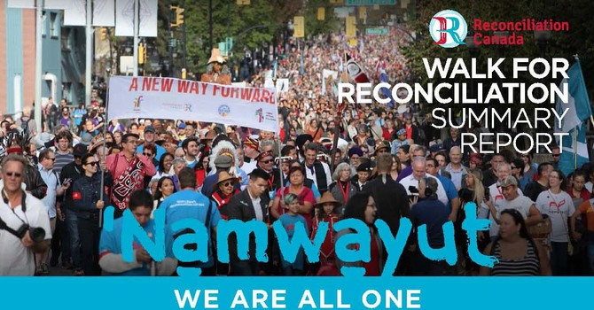 Summary Report from Reconciliation Canada - Sept 24 Walk
