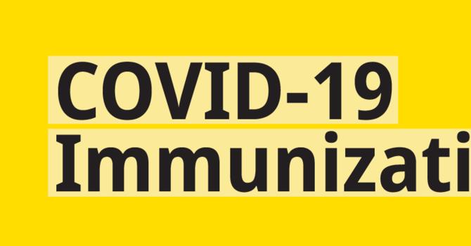Covid-19 Immunization Update image