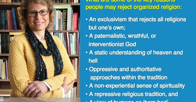Spiritual But Not Religious – Part 2 – Why? image