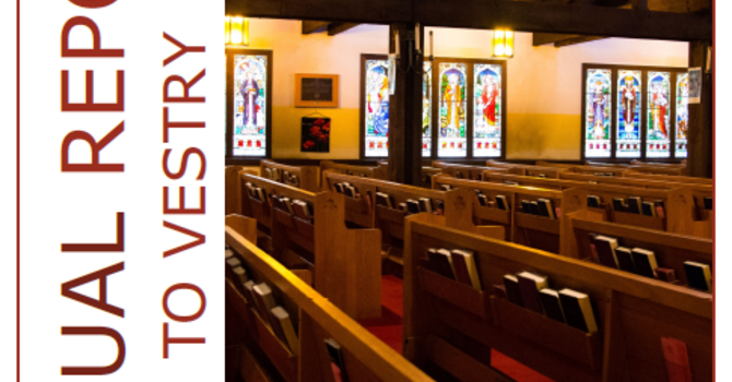 Annual Report to Vestry image