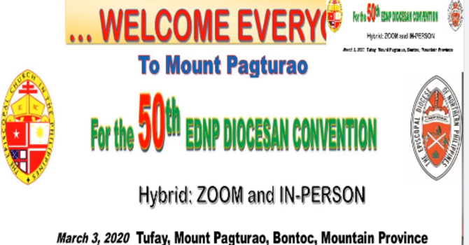 EDNP 50th Diocesan Convention image