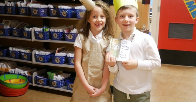 Literacy Week highlights and character dress-up photos image
