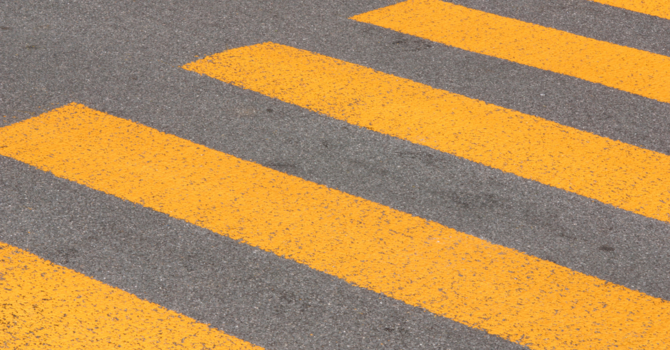 It's all about crosswalk safety image