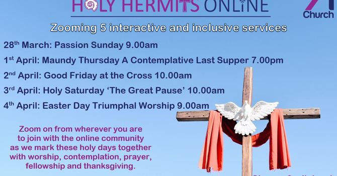 Holy Week at Home with Holy Hermits image