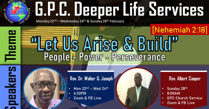 Deeper Life Service - Day 1 image