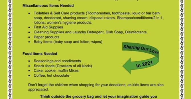 March is Food Share Month image