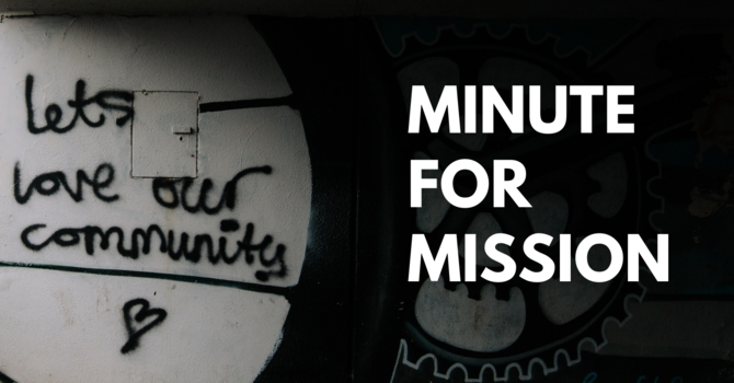 Minute for Mission: We Will Not Give Up On Them image