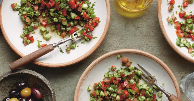 Women's Palestinian cooking night