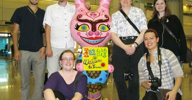 Diocese of New Westminster - Youth Team Arrive in Taiwan-UPDATE image