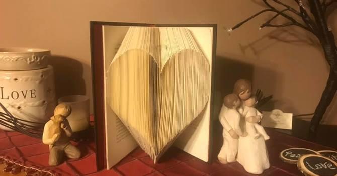 MSC Ladies ~ Book Folding Art