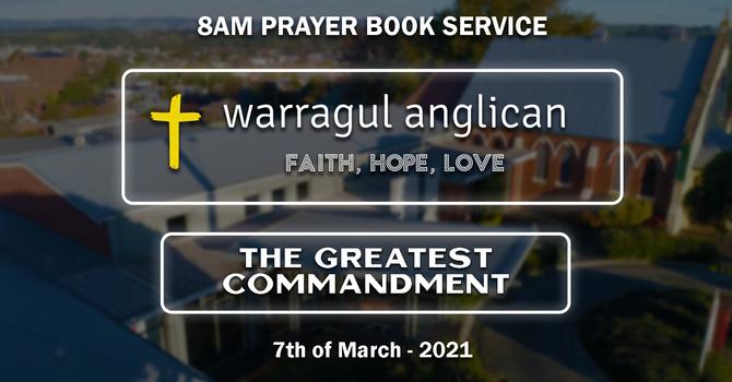 The Greatest Commandment: Part 5