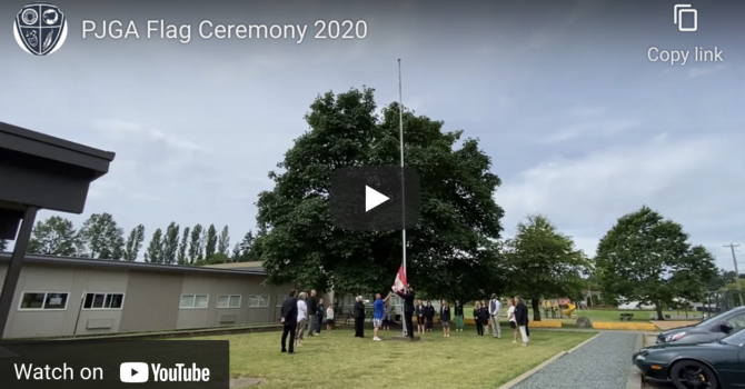 Year-End Flag Ceremony image