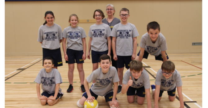 It was a great season for the intermediate volleyball teams! image