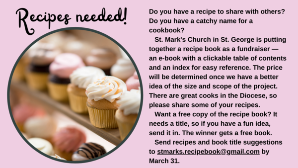 Recipes needed!