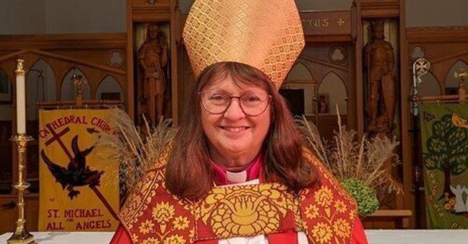 Congratulations to Archbishop Lynne McNaughton image