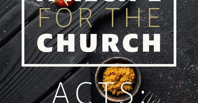 A Recipe For the Church