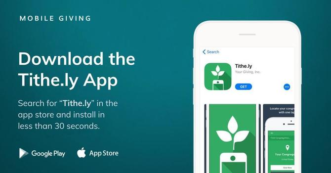 Download our New Church App image