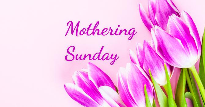 Mothering Sunday image